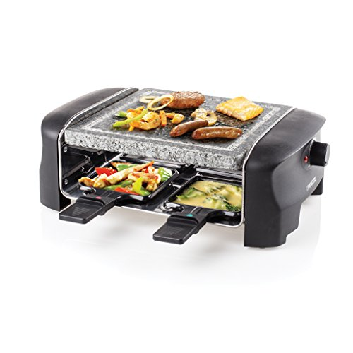 Princess 162810 Stone Grill Party – Raclette y parrilla
