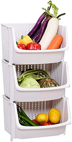 Why Choose ZLZ- Fruit And Vegetable Rack Kitchen Vegetable Rack Floor Storage Rack Fruit Vegetable S...