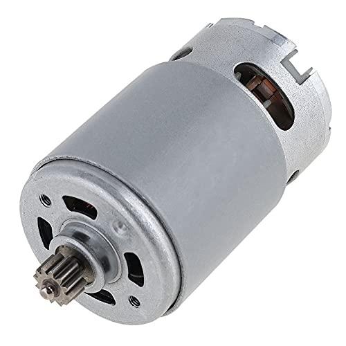 Dc Motor,Motor De Corriente Continua 1 PC 1 2V 16.8V 21V 25V 19500 DC Motor con dos dientes de dos velocidades y caja de engranajes de alta torsión para taladro eléctrico/destornillador