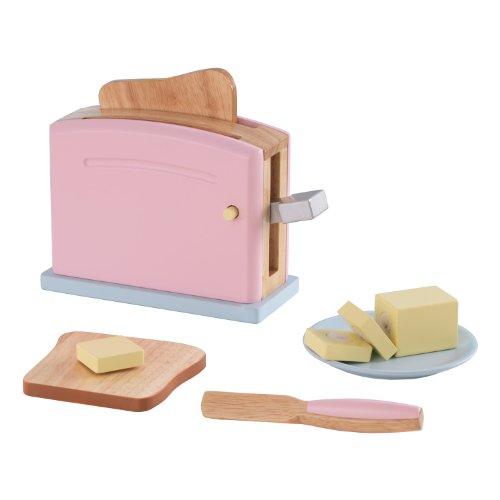 KidKraft 63304 - Pastellfarbenes Toaster Set