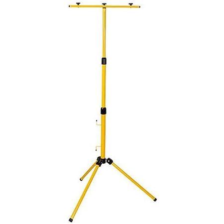 Energieklasse A++ Feidak 160cm Gelb Teleskop Stativ Strahler Flutlicht St/änder Stahl Stativ f/ür Baustrahler LED Fluter