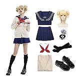 Himiko Toga Disfraz de Cosplay Vestido Uniforme Trajes para Halloween, Anime Cosplay, cumpleaños