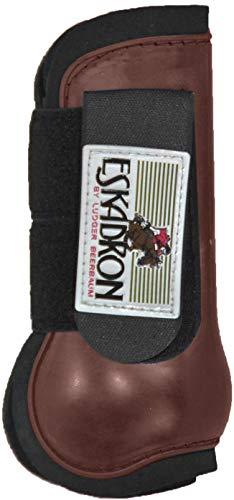 ESKADRON Protection Boots Gamaschen (vorne), braun, Pony