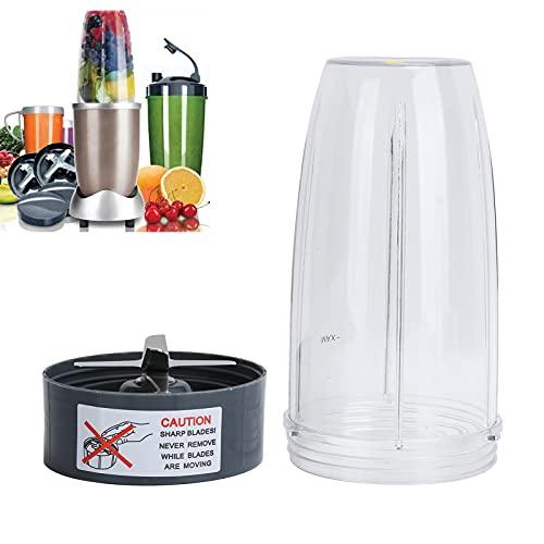 Taza exprimidora de 32 oz, piezas de repuesto de exprimidor exprimidor mágico de hoja plana licuadora mágica para Nutribullet 600 W 900 W para batidora