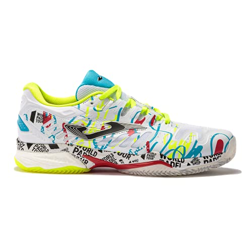 joma Slam, Zapatos de Tenis Hombre, Blanco, 43 EU