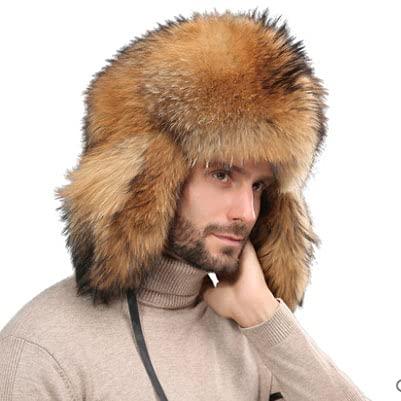 Unisex cálido Invierno Trapper Trooper Sombrero Bombardero Sombreros con Orejeras a Prueba Viento Caza Sombreros para Nieve esquí Deporte al Aire Libre