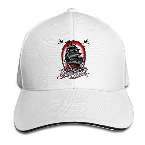 N / A Parkway Drive Cap Sandwich Hut Baseballkappe Polyester Unisex Alle Jahreszeiten Sind Bequem Und Atmungsaktiv