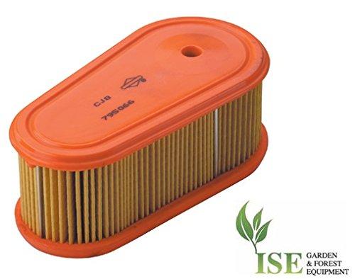 Ise® Ersatz-Luftfilter für Briggs & Stratton Professional Series 7.75-8.75 ersetzt Teilenummern: 795066, 796254