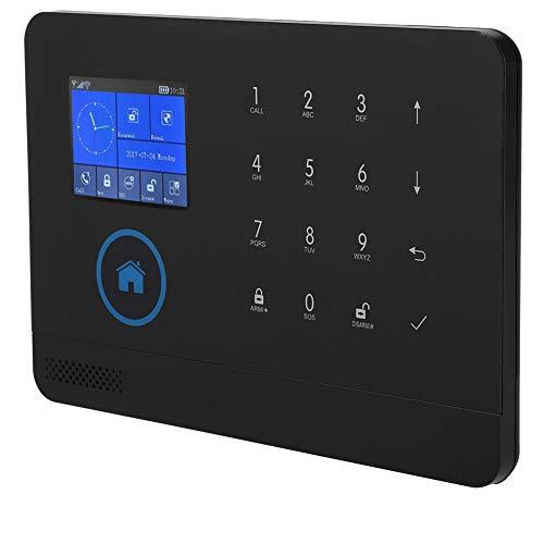 Kit de sistema de alarma de seguridad para el hogar 3G / GSM / GPRS / WIFI Kit de alarma de video inteligente inalámbrico Hogar y oficina de negocios con pantalla a color con control remoto APP (eu)