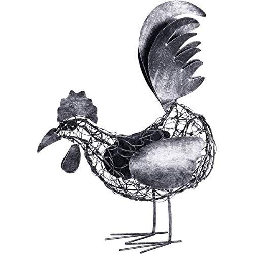 KOH DECO Coq décoratif en Fer