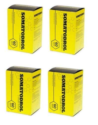 4 X SOMATODROL 60 CAPSULAS FORMACION MUSCULAR