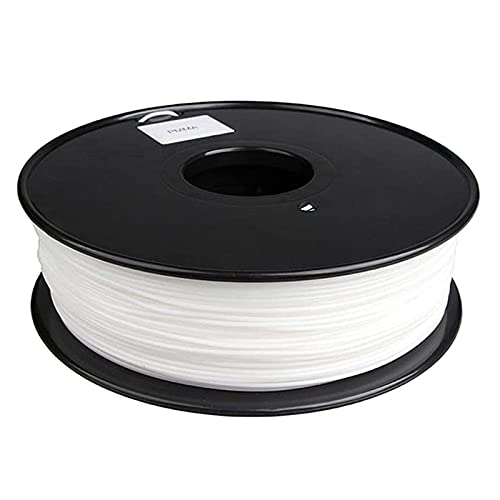 3D Printer Filament,3D Printer Consumables, PMMA Acrylic Material, Good Weather Resistance, Good Rigidity, 1.75Mm, 1Kg Spool,White