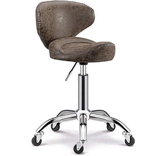 OSALADI vrijetijdsstoel ChirStoolBar stoel Beauty Chair leuning barkruk barstoel hoge voet bar draaistoel Chair Lift Beauty