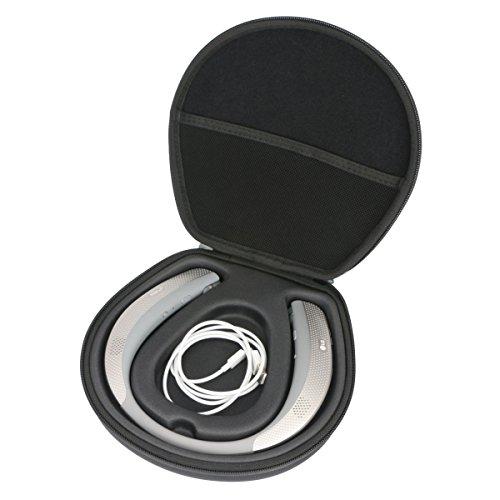 Hard Case for LG Tone Studio HBS-W120 - Wearable Personal Speaker - Titan Gray by Khanka