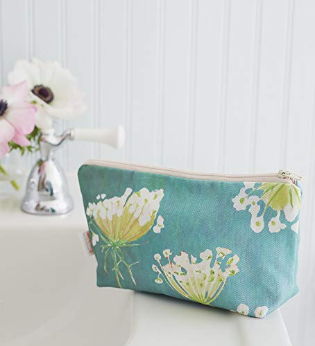 Makeup Bag: Queen Anne's on Sales of SALE items from new works Rare Teal Lace