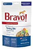 Bravo! Premium Freeze-Dried Training Treats for Dogs, Turkey 2.5 OZ