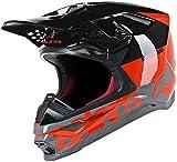 Alpinestars Supertech S-M8 Radium Casco di motocross Nero/Grigio/Rosso