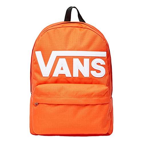 Vans Mochila unisex Old Skool Iii Equipaje de equipaje de mano, spicy naranja, Talla única, Mochila Old Skool III