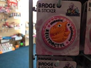 Kelly–Dinosaurus personnalisé Nom badge