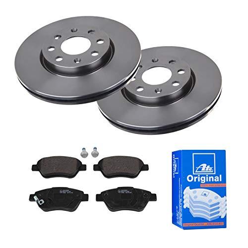 2 Bremsscheiben Ø257 Belüftet + Bremsbeläge ATE Vorne P-A-01-00865 Bremsanlage