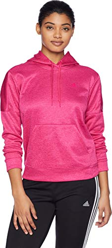 adidas Team Issue Pullover Hoodie Real Magenta/Real Magenta/Real Magenta XS