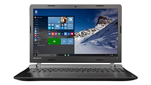 Lenovo Ideapad 100-15IBY 15.6 inch Notebook (Intel Celeron N2840, 4 GB RAM, 500 GB HDD, DVDRW, WLAN, Camera, Integrated Graphics, Windows 10 Home) - Black