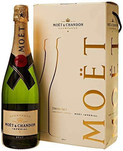 Moet & Chandon Champagne 0,75 lt. - Confezione da 2 bottiglie