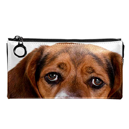 Neceser de Maquillaje Estuche Escolar para Cosméticos Bolsa de Aseo Grande Cachorro Perro Beagle