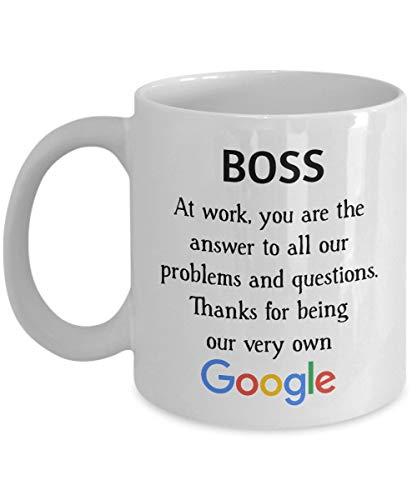 Boss Geschenke für Männer, Chef Becher, Abschiedsgeschenke für Mitarbeiter, Mitarbeiter verlassen Geschenke, Abschiedsgeschenke für Mitarbeiter, Auf Wiedersehen Mitarbeiter Geschenk, Abschiedsgeschenk