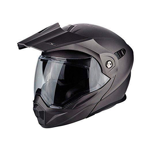 Scorpion Herren 84-100-67-05 Motorradhelm - ADX 1, Anthrazit, L