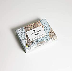 Unique array of stationery items in a luxury storage box Contains a selection of writing paper, envelopes and stickers Features a fabulous selection of 4 designs to mix and match Ideal for the letter writing enthusiast Selection of historical maps of...