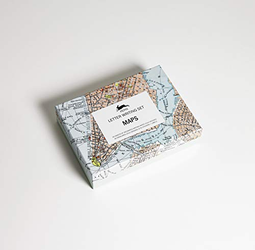 Maps - Letter Writing Set