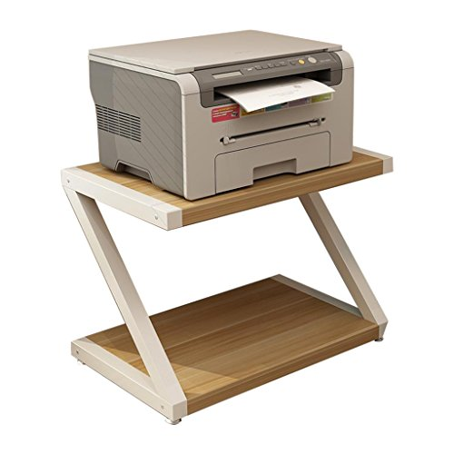 WWWANG Shelf Printer Shelf Desktop Double opslag Rack Multi-layer Rack kopiëren Rack 44x28x30cm (Color : #1, Size : 50 * 32 * 37.5cm)