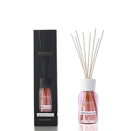 Millefiori Natural Diffusore di fragranza per ambienti 100ml fragranza Magnolia Blossom & Wood