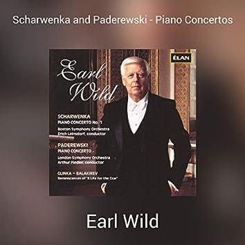 Scharwenka and Paderewski - Piano Concertos