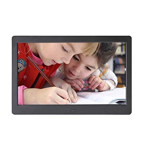 ELD 17,1-Zoll-High-Definition Digital Photo Frame, 1080P Automatische Wiedergabe von MP3 / WMA elektronisches Album Shopping Mall Werbung Maschine/Mondkalender/Analog-Uhr,A