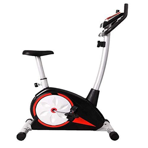 BZLLW Indoor Cycling Bike-Riementrieb Indoor Magnetheimtrainer, Stationary Cycle Bike - mit LCD-Display und Herzfrequenz Test - for Heim Cardio Gymnastik-Training