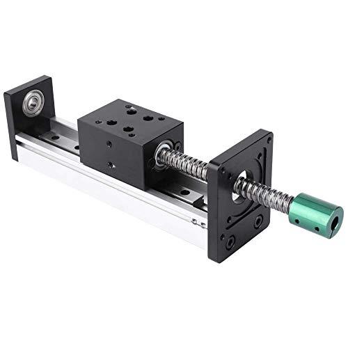 Best Review Of KONGZIR Linear Guide Rail 600mm, Aluminum Alloy Linear Guide Rail Slide Ball Screw Mo...