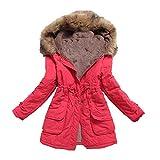 N\P Abrigo de mujer otoño e invierno cálido abrigo