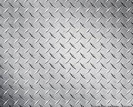 "Aluminum 3003-H22 Bright Finish Diamond Tread Plate - .025"" x 36"" x 48"""