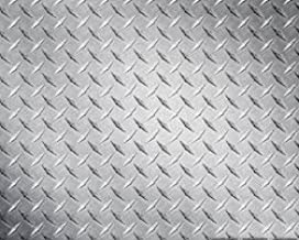 Aluminum 3003-H22 Bright Finish Diamond Tread Plate - .125