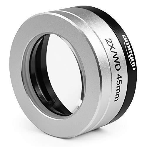 Omegon Objektiv Mikroskop-Vorsatzlinse 2.0X mit Adapter