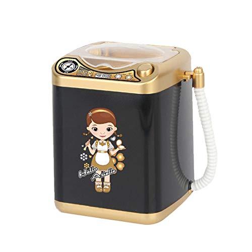 GUANGUA Mini Maquillage Électrique Brosse Nettoyant Machine À Laver Dollhouse Jouet Brosse Maquillage Puff Washer Beauté Maquillage Outil De Nettoyage