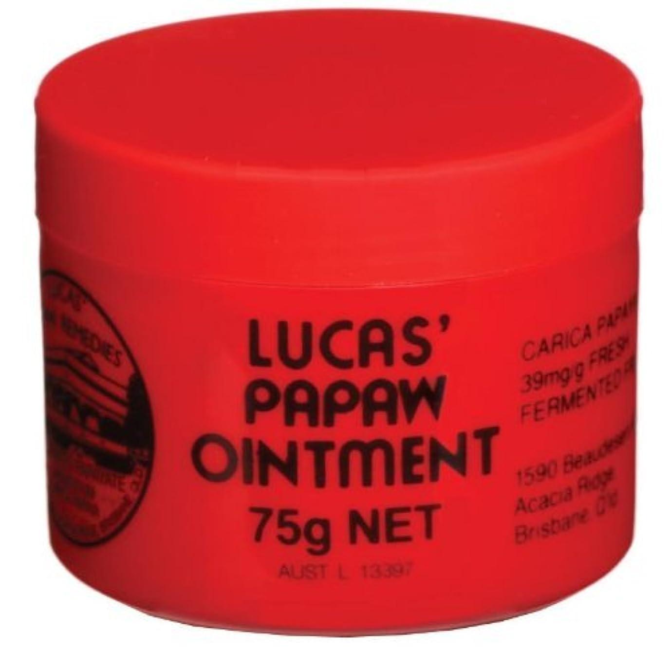 無許可こねる異なる[Lucas' Papaw Ointment] ルーカスポーポークリーム 75g