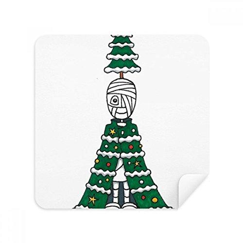 DIYthinker Egypte mama Horus kerstboom mantel bril schoonmaken doek telefoon scherm reiniger Suede stof 2 Stks