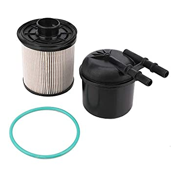 6.7 Powerstroke Fuel Filter - Compatible with 2011-2016 Ford F-250 F-350 F-450 F-550 Super Duty 6.7L V8 Diesel - Replace FD-4615 BC3Z-9N184-B - 5 Micron Fuel Filter Water Separator Kit