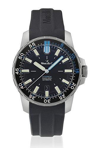 Marcello C 2024.4–Uhr, Silikon-Armband