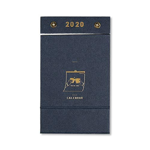 Hermosa y delicada Calendario de la decoración del hogar for la mesa, 2020 Calendario manual pequeña fresca Tear calendario 365 días Año Nuevo calendario de cuenta regresiva del calendario de escritor