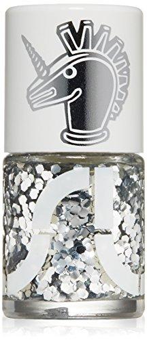 uslu airlines Nagellack, disco glitter/silver pentagon mirrors, 11 ml