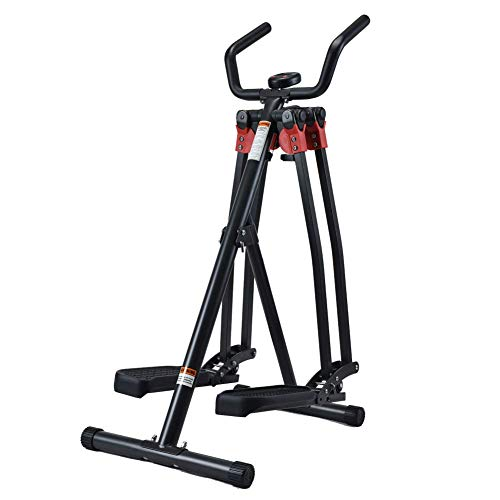 Air Walker • Crosswalker • Cross Trainer • Glider • Exercise Bike • Horizontal Swinging Motion Home Gym Fitness Exercise Machine with LCD Monitor